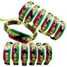Zodiac Rasta Bracelet